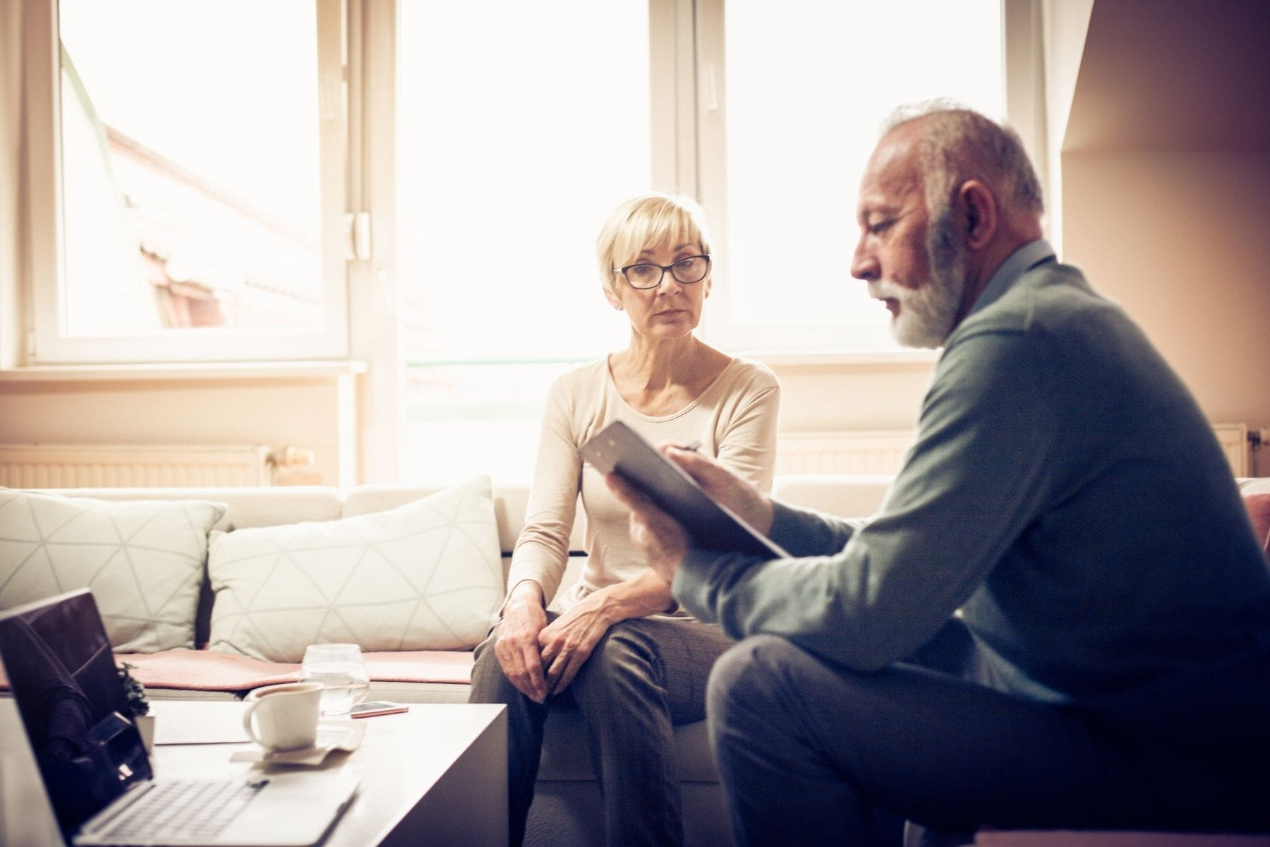 old-age-couple-analyzing-no-exam-life-insurance-plans-for-parents